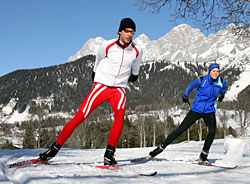 Skater in Ramsau am Dachstein