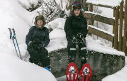 Schneeschuhwandern in Nendaz