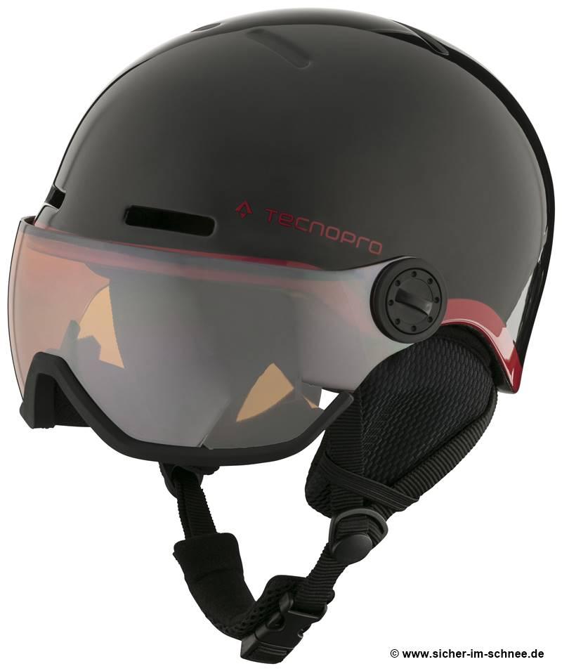 Helm mit Visier für Kinder