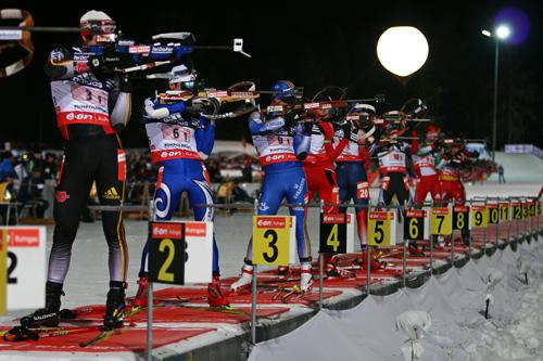 Biathlon WM in Ruhpolding