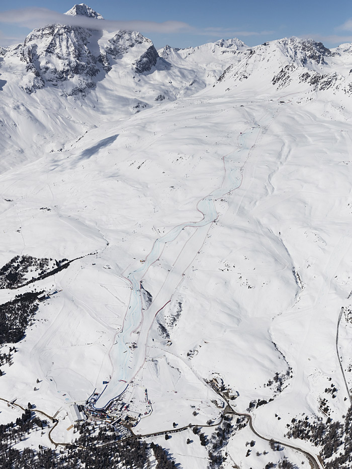 Piste in St. Moritz