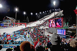 Zielstadion in Flachau