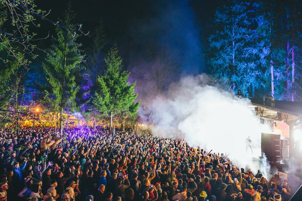 Forest Stage beim Snowbombing in Mayrhofen