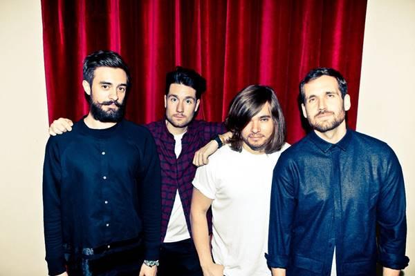 Die Musiker der britischen Band Bastille