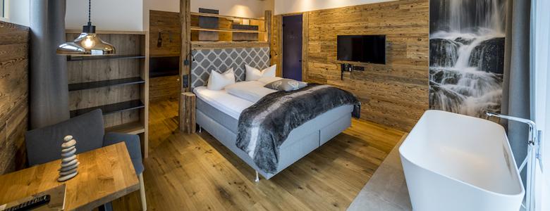 Zimmer im Post Hotel See
