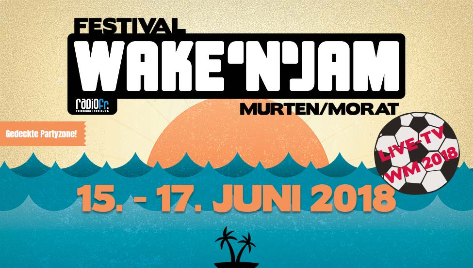 Flyer Wake'n'Jam Festival 2018  © wakeandjam.ch