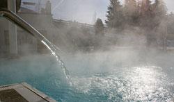 Baden im Thermalwasser