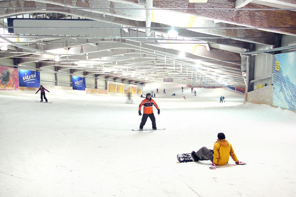 Piste im Alpincenter Bottrop