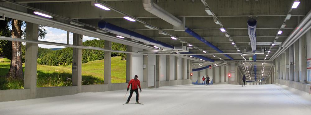 DKB-Skihalle in Oberhof