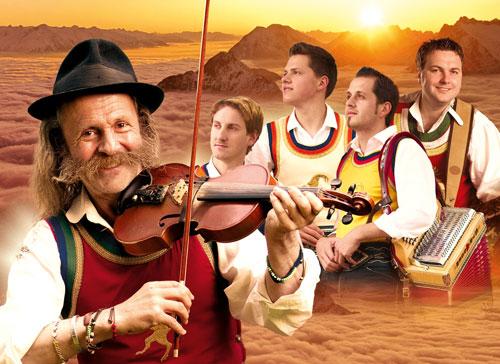 Die erfolgreichen Volksmusiker: Die Mayrhofner