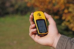 Geocaching mit GPS-Gerät