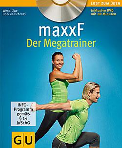 maxx F-Megatrainer, Buch mit DVD