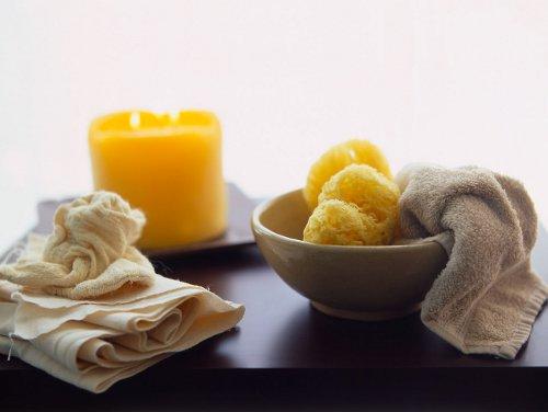 Salz kann für zahlreiche Wellnessanwendungen verwendet werden