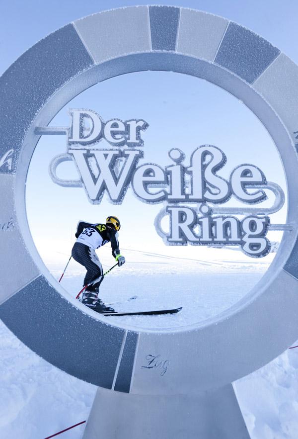 Logo des Weißen Rings in Lech-Zürs