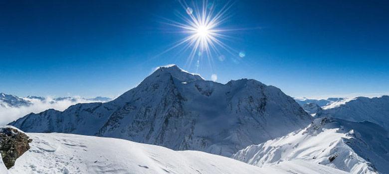 Gipfelblick in Paradiski