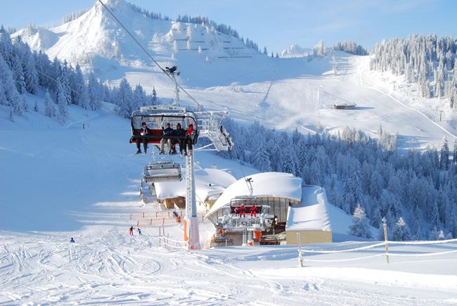 Skiverbund Ski amadé - Wagrain - Skilift Grafenberg