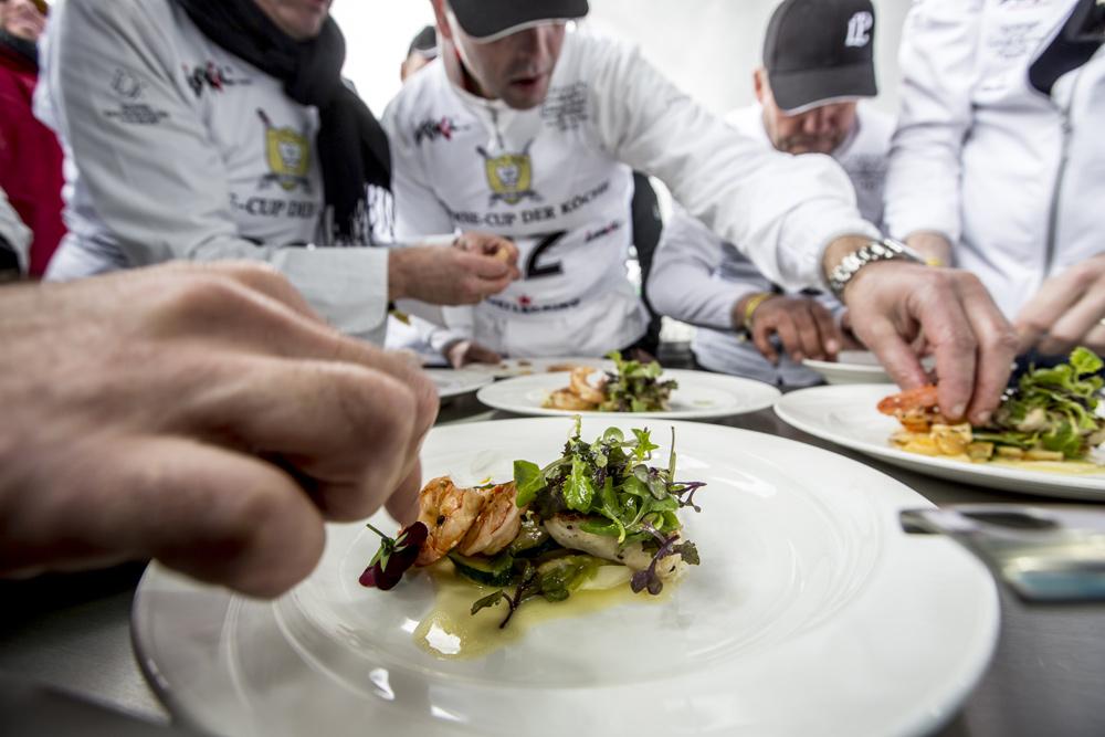 Gericht bei der kulinarischen Prüfung des Sterne Cups der Köche in Ischgl