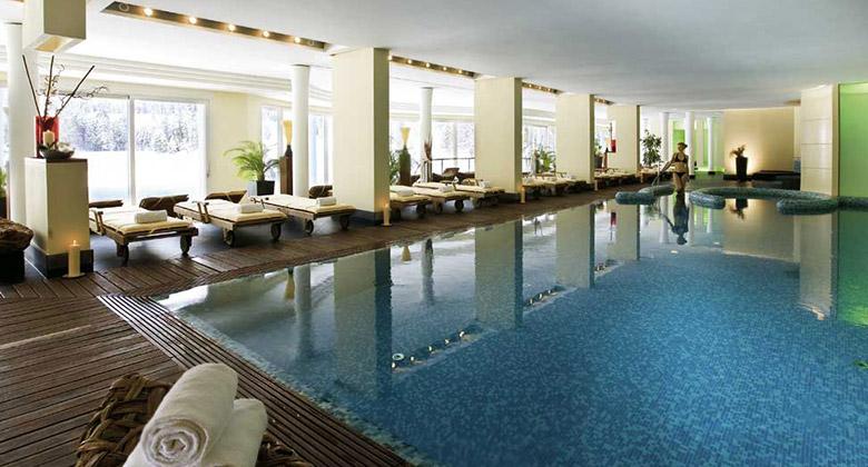 Spa des Alpenhotels Spitzingsee