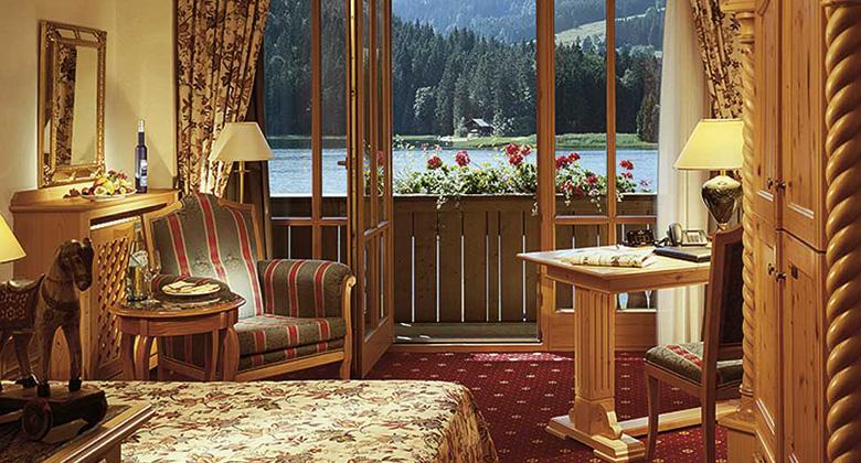 Standardzimmer des Alpenhotel Spitzingsee