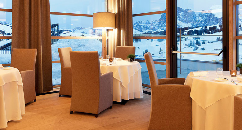 Restaurant im Alpina Dolomites