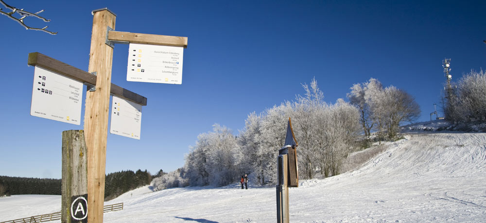 Winterwanderwege in Sauerland
