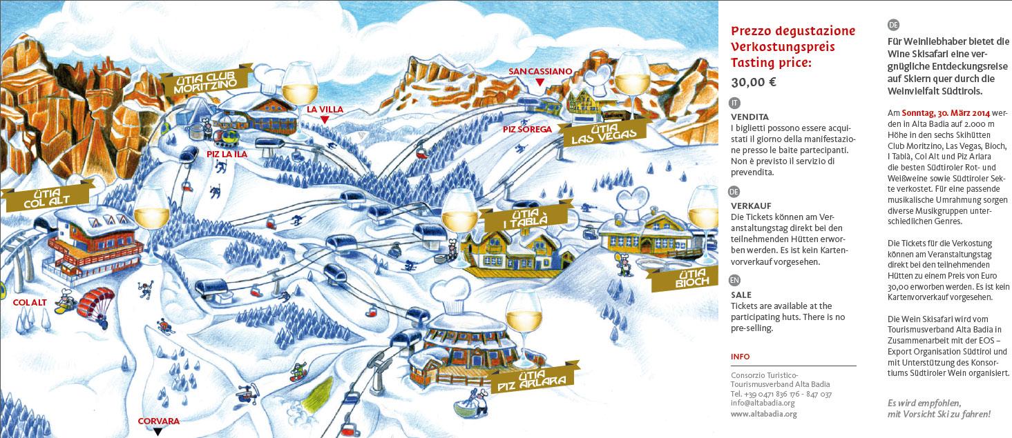 Wein Ski Safari Tour Alta Badia