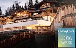 Hotel Kaltenbach im Zillertal am Abend