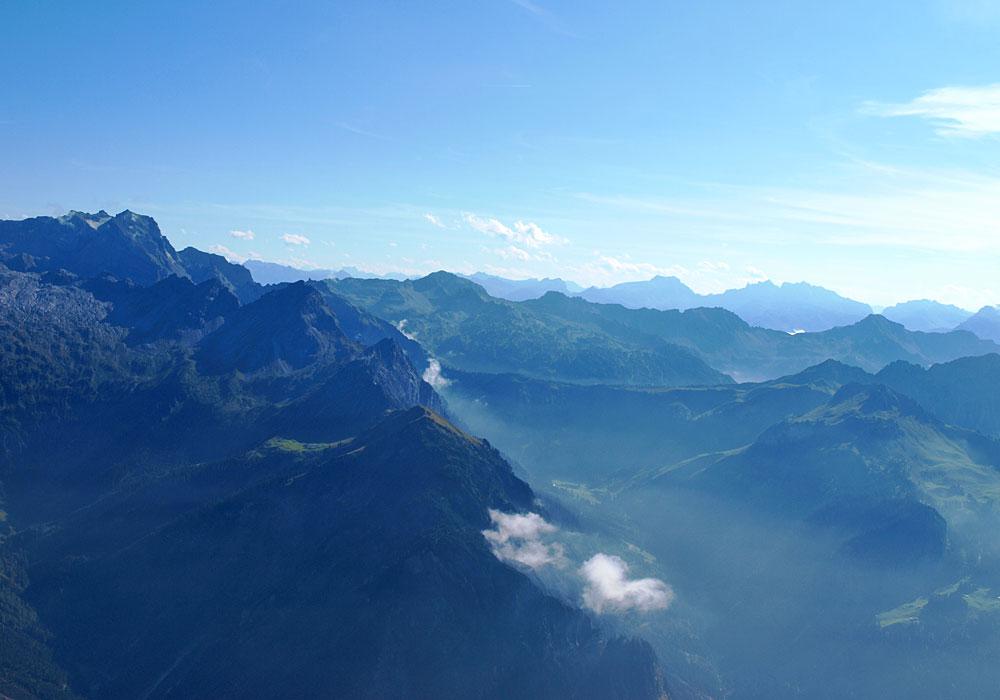 Panorama vom Zitterklapfen