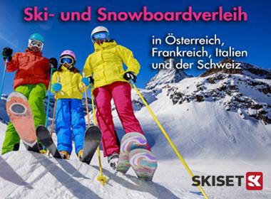 Skiset Ski- und Snowboardverleih