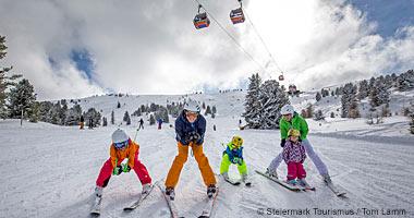 Skifahren am Kreischberg