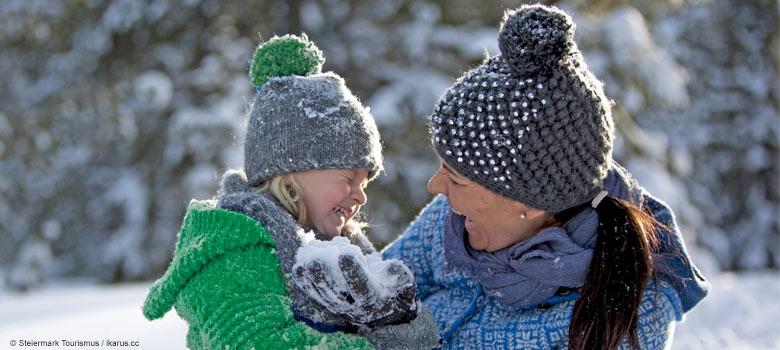 Schneeabenteuer mit der ganzen Familie