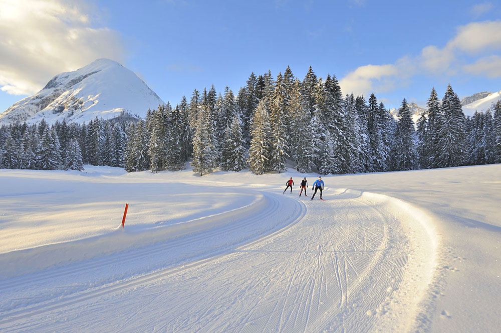 Langläufer in Seefeld