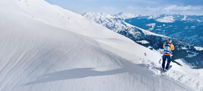 Freeriden in Mayrhofen