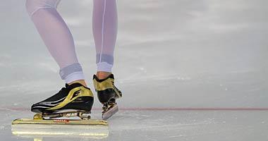 Eislauf in der Max Aicher Arena in Inzell