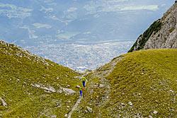 Die 12. Etappe des Alderwegs nach Innsbruck