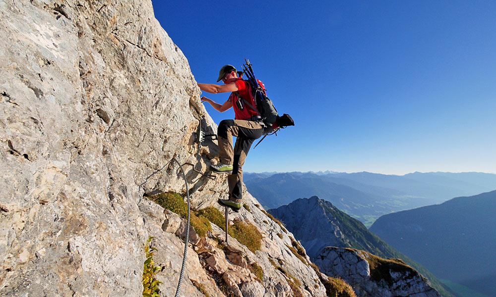Klettersteig Kinder : Klettersteig mit kinder und jugendlichen eine besondere