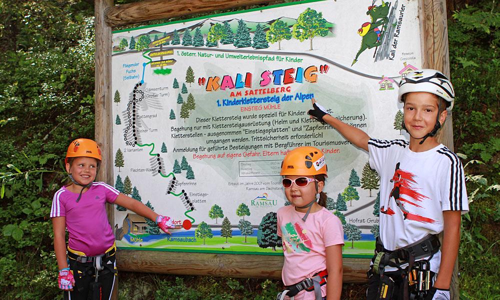 Klettersteig Für Kinder : Klettersteige für jedermann alpen guide.de