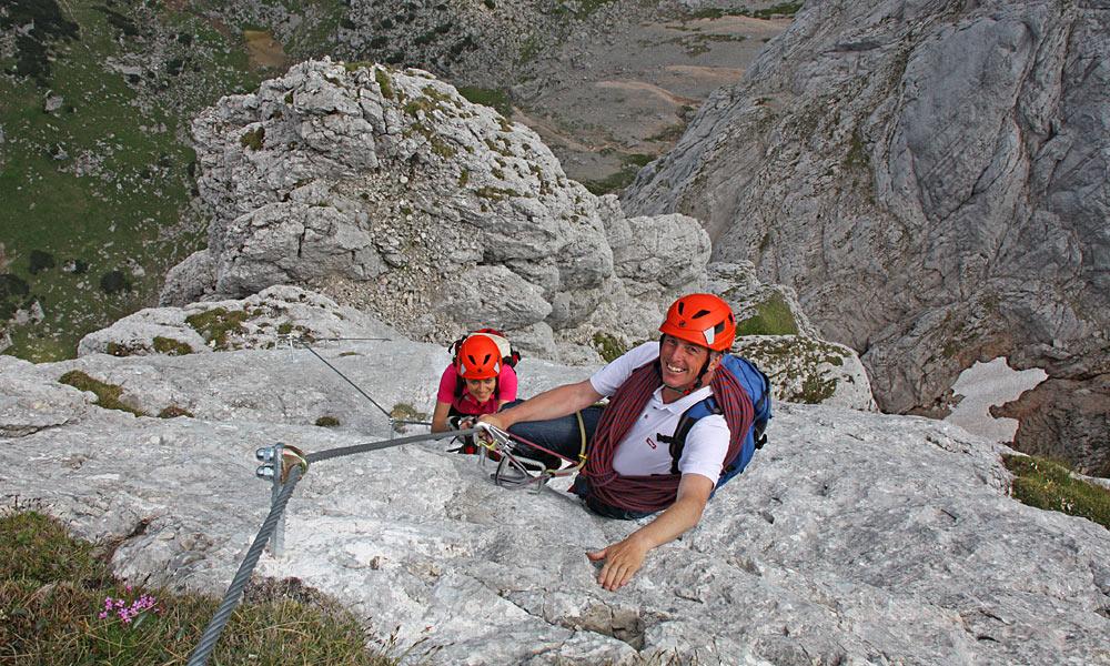 Klettersteig Achensee : Klettersteige für jedermann alpen guide