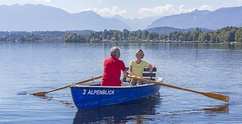 Ruderboot auf dem Staffelsee