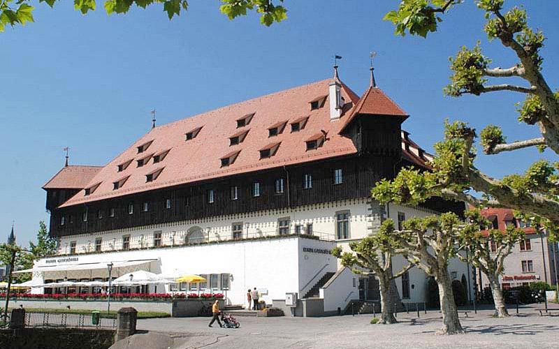 Das Konzilgebäude am Hafen © Konstanz Tourismus