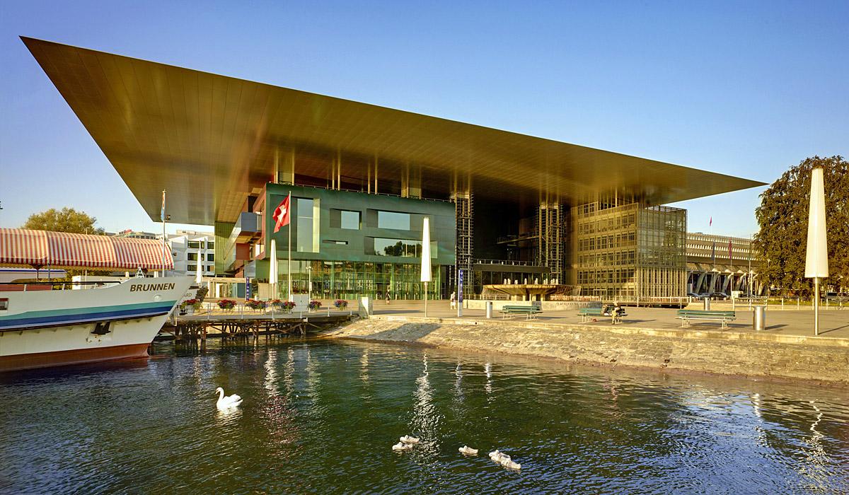 Das Kultur- und Kongresszentrum Luzern © AURA Fotoagentur