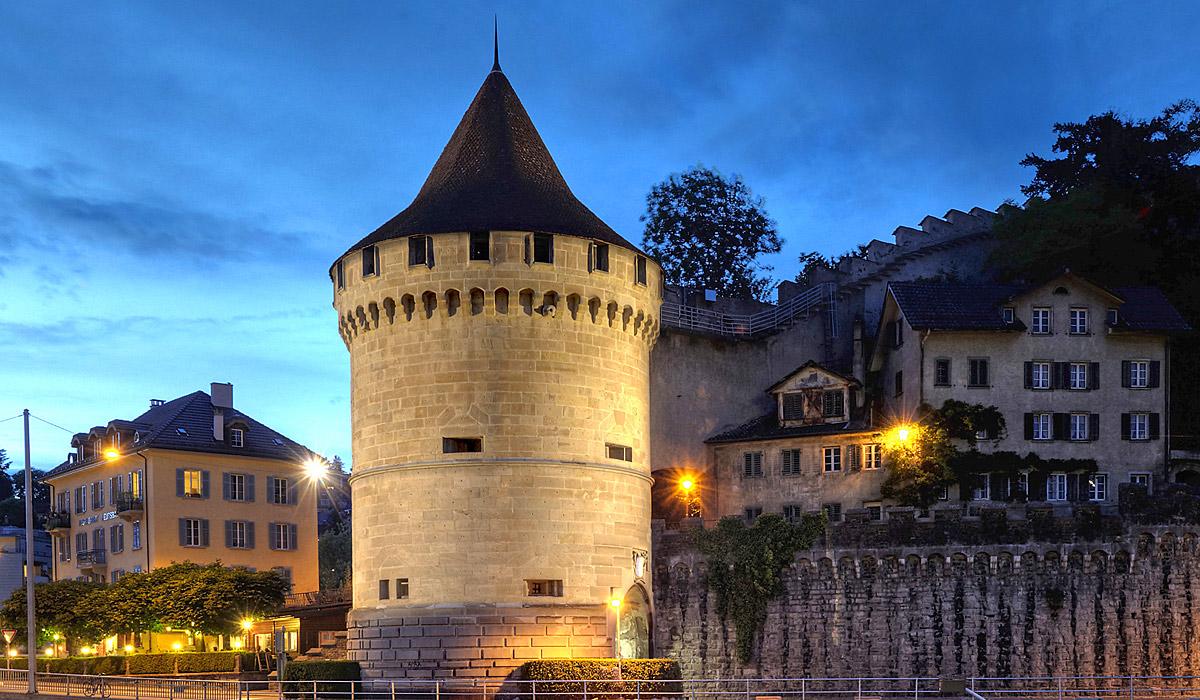 Der Noelliturm in Luzern © AURA Fotoagentur