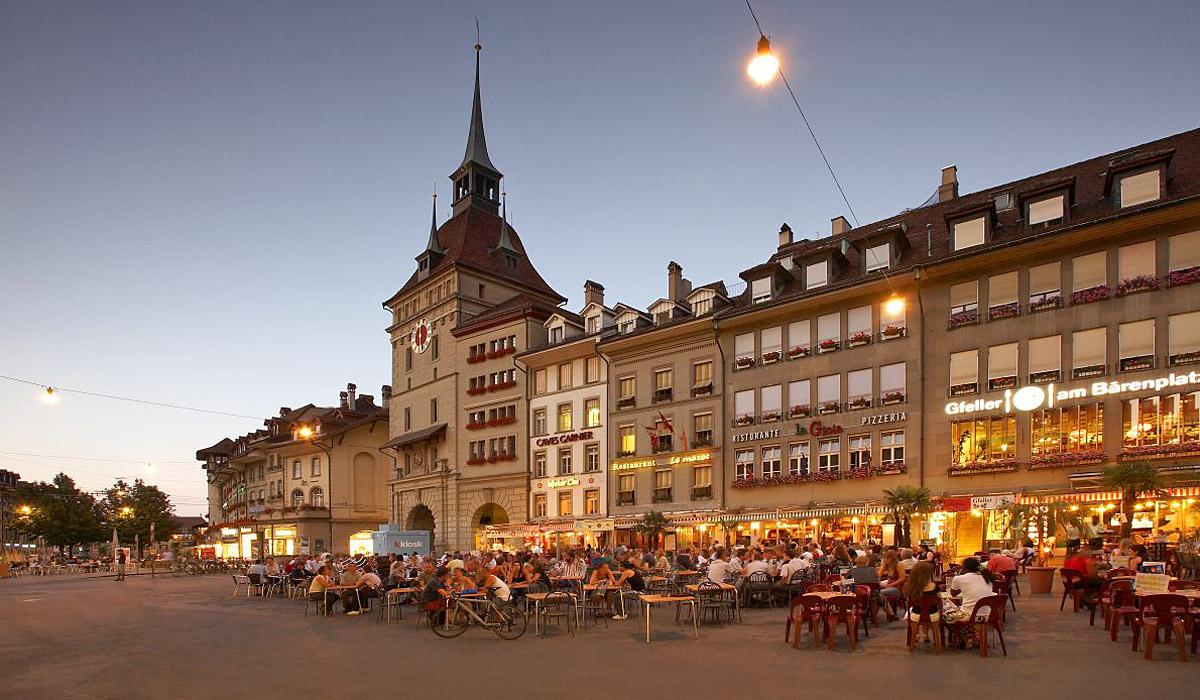 Der Bärenplatz Bern © Bern Tourismus