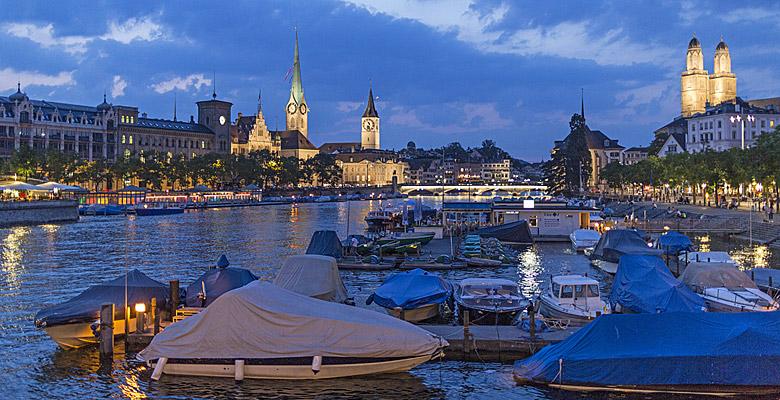 Die Züricher Promenade