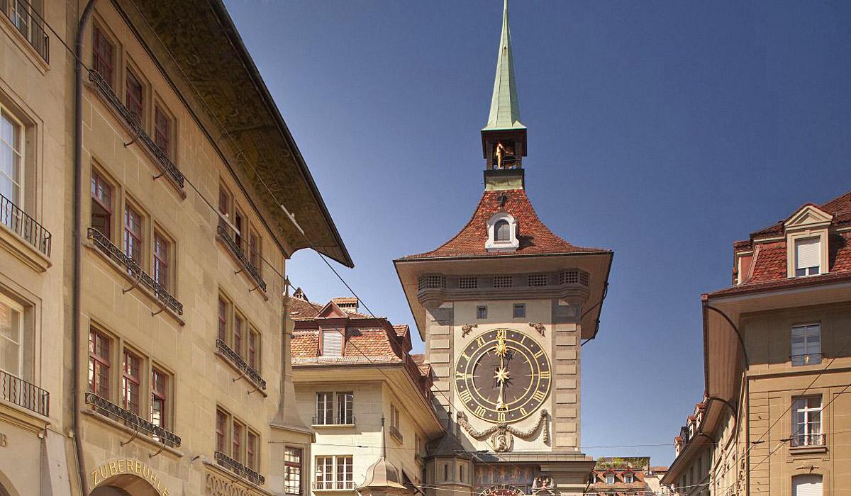 Der Zeitglockenturm in Bern © Bern Tourismus