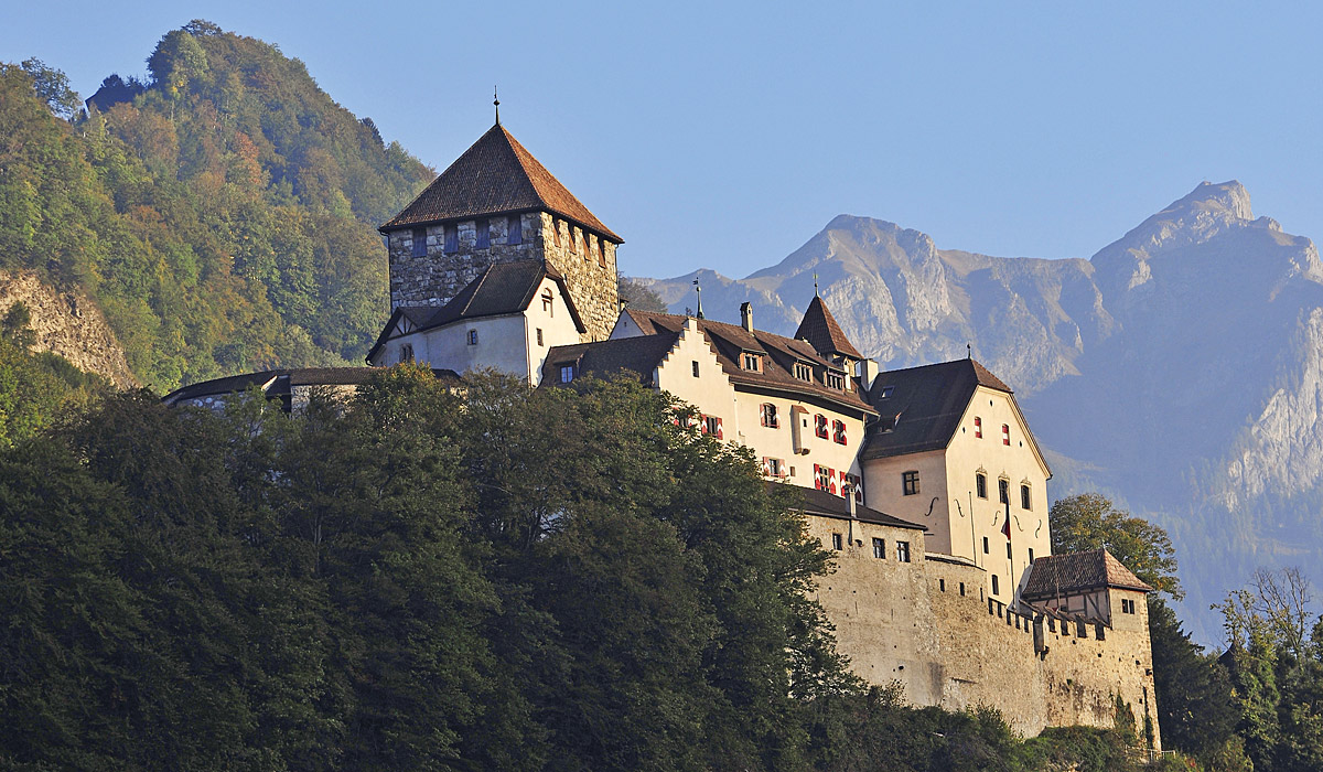 Das Schloss Vaduz © Liechtenstein Marketing