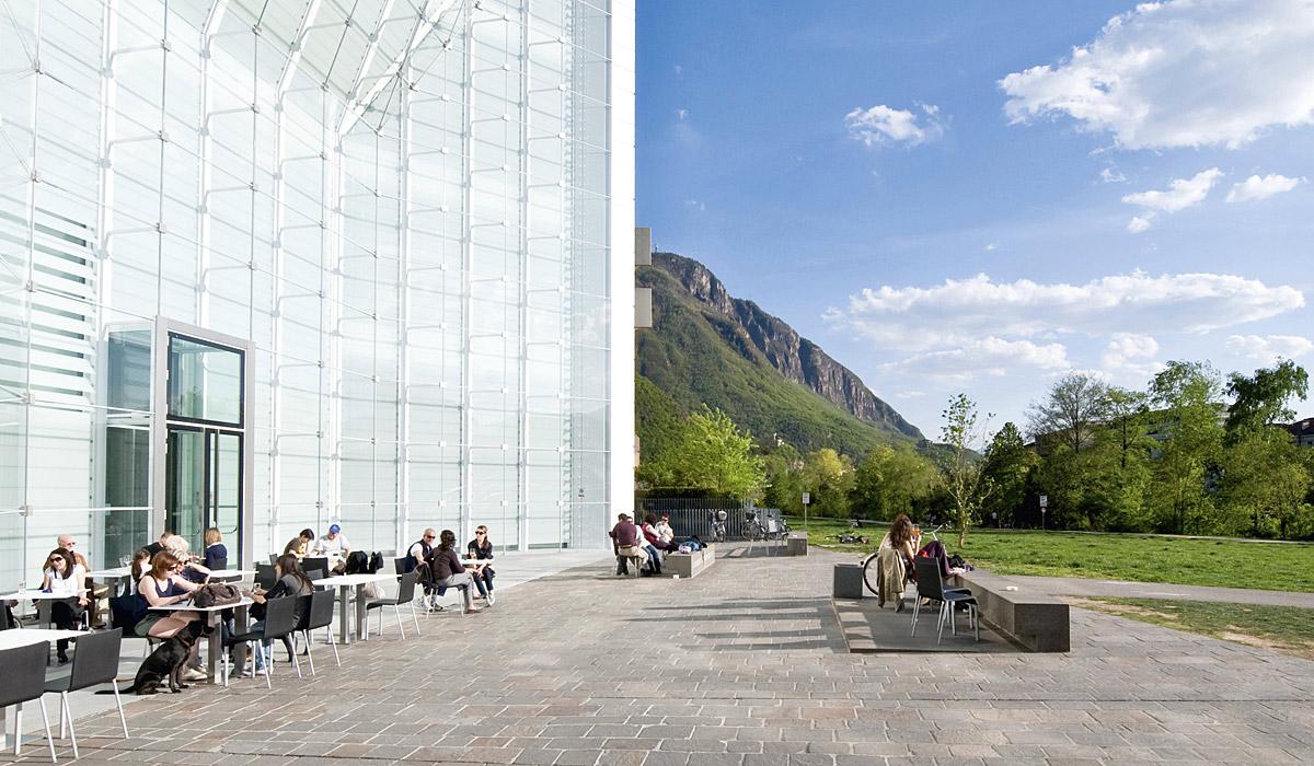 Das Museion Bozen © Südtirol Marketing / Helmuth Rier