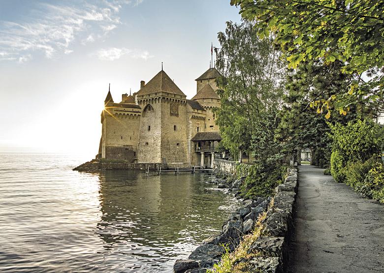 Wasserburg Schloss Chillon