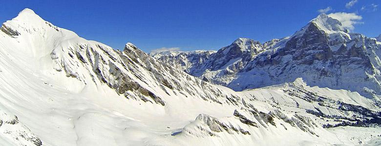 Bergpanorama Crans Montana