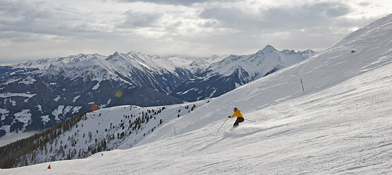 Skifahren am Penken in Mayrhofen